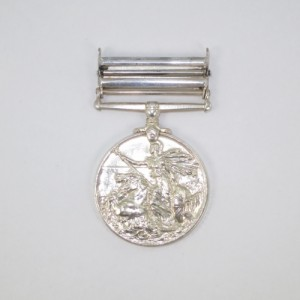 repaired medal with pinned bar