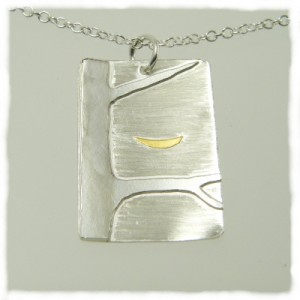 Smile tree pendant