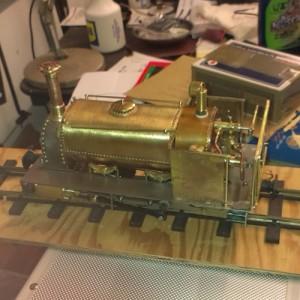 Frank's model steam engine
