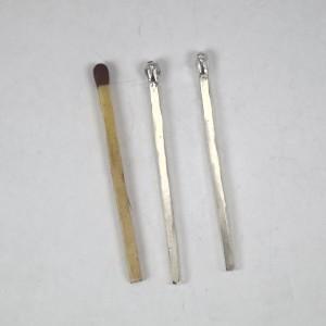 Sterling silver matchsticks