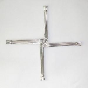 Sterling silver St Brigid's Cross