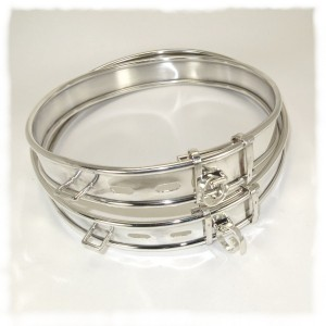 Sterling silver dog collars