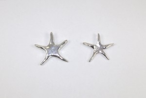 Solid silver startfish