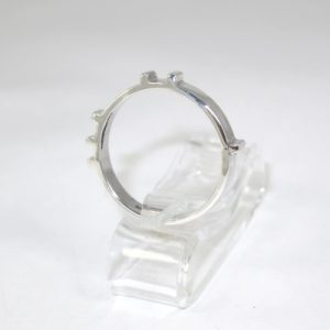 Silver counting ring