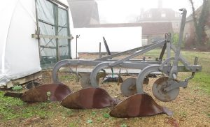 Ferguson three furrow plough