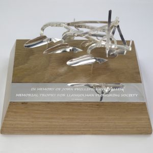 Silver plough trophy