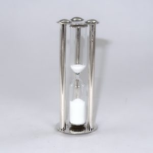 Traditional style sIlver egg timer