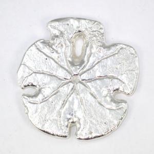 Silver sand dollar