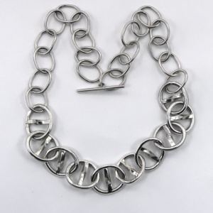 Heavy silver chain