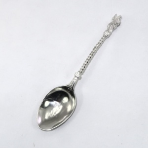 Apostle spoon after repair