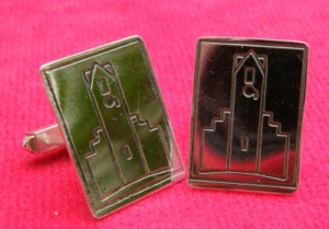 Radley Clock Tower silver cufflinks 2009