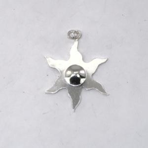 Silver estoile pendant