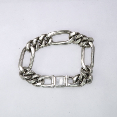 Bracelet with replaced hinges/ knuckles