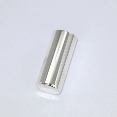 Silver swagger stick tip