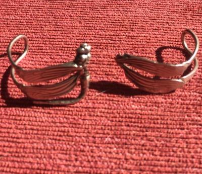 Silver Dragonfly bangle broken