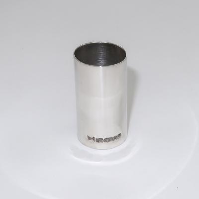 Silver cane collar