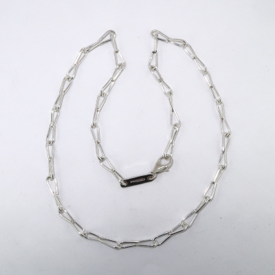 Jeweller's delight style silver chain